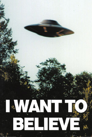 C030B I WANT TO BELIEVE X FILE