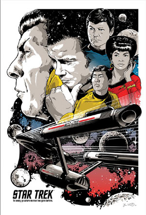 PC250B STAR TREK 50TH