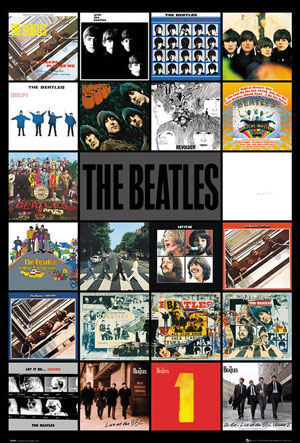 PM145B THE BEATLES ALBUMS