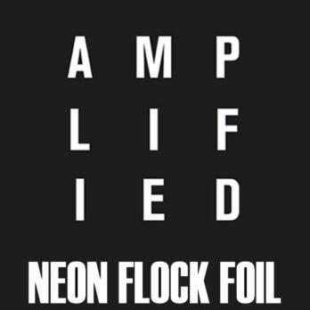 A-Neon Flock & Foil